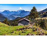 Tirol, Wooden cabin