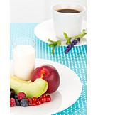 Sweet, Breakfast, Fruit Plate