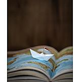 Paper boat, Cruise ship, Wanderlust