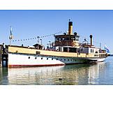 Cruise ship, Paddleboat