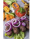 Mittagessen, Cevapcici, Balkanküche