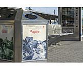 Recycling, Mülleimer, Abfallentsorgung