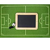Copy Space, Soccer, Blackboard
