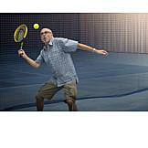 Aktiver Senior, Tennis