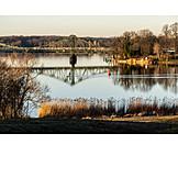 Glienicker bridge, Havel