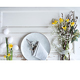 Easter, Table Decoration, Place Setting