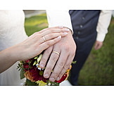 Marry, Wedding Rings, Love Oath, Wedding Couple