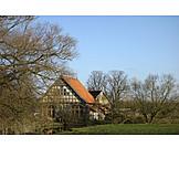 House, Property, Malgarten Abbey