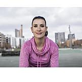 Woman, Sportswoman, Runner