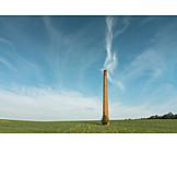 Industry, Rubble, Smokestack