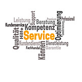 Service, Word Cloud