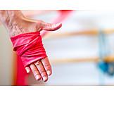 Hand, Exercise Band, Strengthening