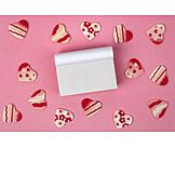 Copy Space, Valentine, Note Pad