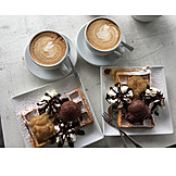 Dessert, Cappuccino