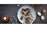 Easter, Place Setting, Easter Cutlery