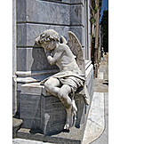 Friedhof, Engelsfigur, La Recoleta