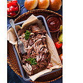 American Cuisine, Barbecue, Pulled Pork