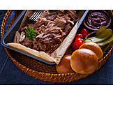 Ingredient, Barbecue, Pulled Pork