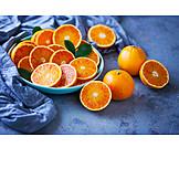 Orange, Orange Half, Blood Orange