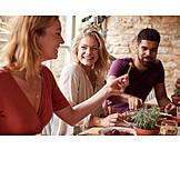 Eating, Restaurant, Mediterranean Cuisine