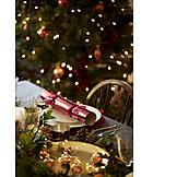 Festive, Dining table, Christmas dinner