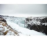 Waterfall, Gullfoss