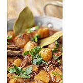 Griechische Küche, Fleischgericht, Stifado