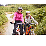 Bicycle, Excursion, Siblings
