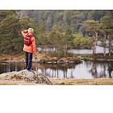 Boy, Lake, Scenics