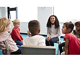 Kommunikation, Kindergarten, Stuhlkreis