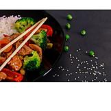 Japanische Küche, Tellergericht