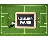 Fußball, Sommer-pause