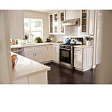 Kitchen, Country Style, Domestic Kitchen