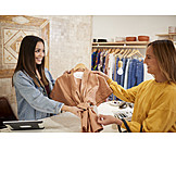 Fashion, Serving, Customer, Sales Executive