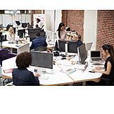 Office, Open Plan Office