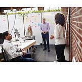 Presentation, Brainstorming, Team Meeting