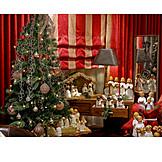 Weihnachtsdekoration, Weihnachtsbaum, Weihnachtsengel