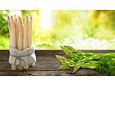 Asparagus, Green Asparagus, White Asparagus