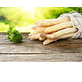 Asparagus, White Asparagus, Season Vegetable