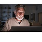 Man, Home, Online