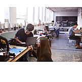 Zusammenarbeit, Schüler, Werkstatt