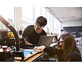 Forschung, Studenten, Robotik