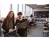 Forschung, Schüler, Werkstatt, Robotik