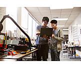 Zusammenarbeit, Forschung, Schüler