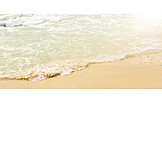 Meer, Sand, Welle