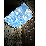 Sky, Multifamily, Courtyard