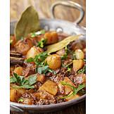 Stew, Meat Dish, Stifado