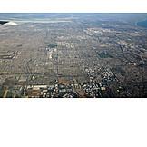 Luftaufnahme, Los Angeles