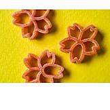 Flower, Shape, Pasta