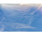 Sky, Moon, Veil Clouds